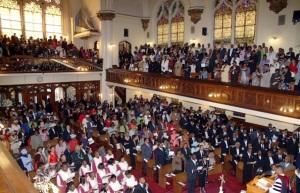gospel en covent church en  harlem