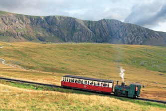 P434 Snowdon Mountain Railway and Cloggy