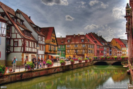 The-beautiful-Colmar.-France